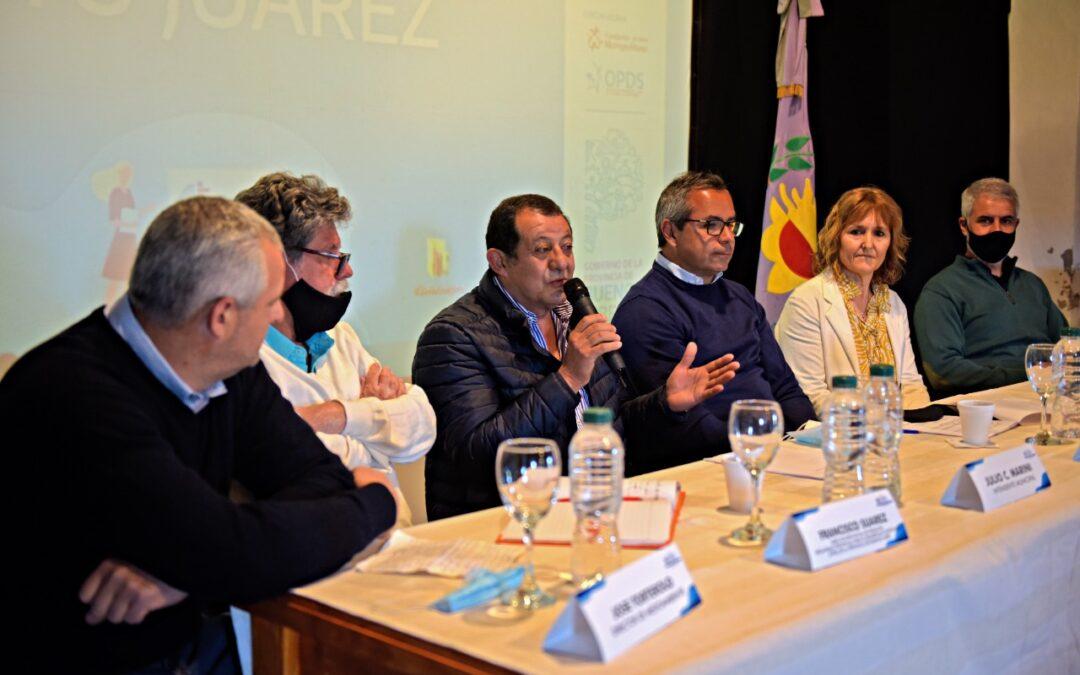 Benito Juarez fue sede de la Mesa Ambiental Bonaerense
