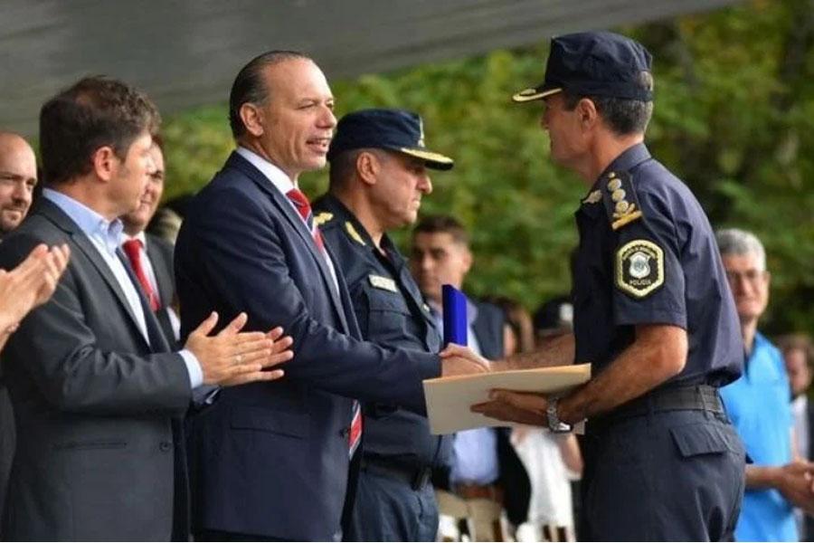 Berni convocó a prestar servicio obligatorio a policías retirados en la provincia de Buenos Aires