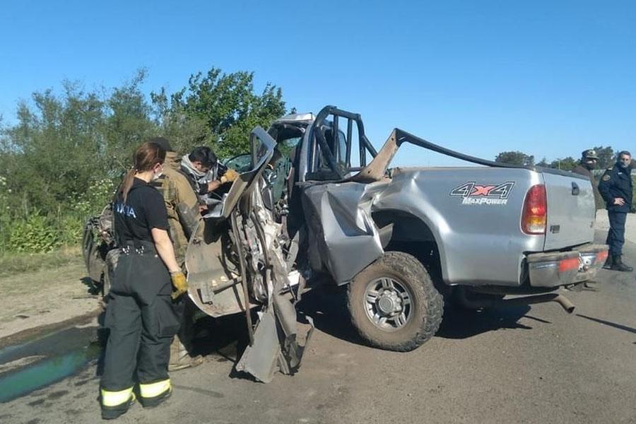 Choque fatal en Ruta 36: producto del accidente murió un conductor junto a su mascota