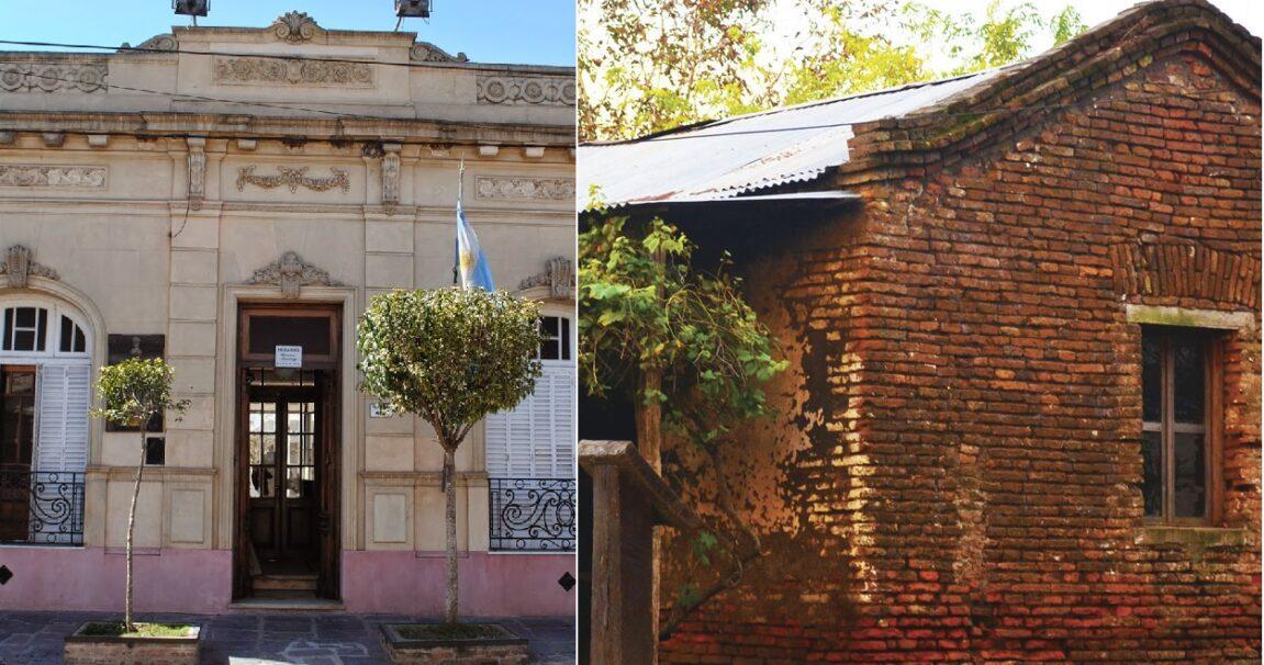 dónde nació Perón, las dos casas natalicias del general