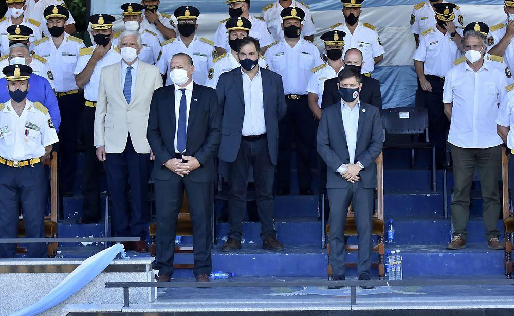 Provincia aumenta el sueldo y las horas Cores para las fuerzas de seguridad