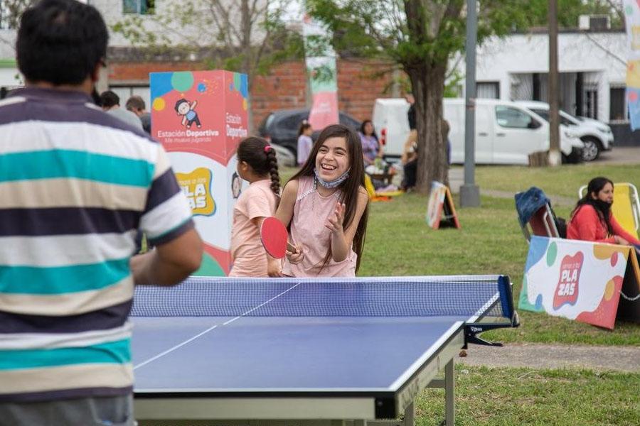 Los vecinos de San Nicolás disfrutaron diferentes actividades propuestas en los espacios públicos