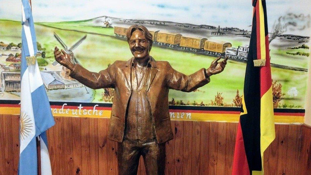 Sergio Denis tendrá su propia estatua en el pequeño pueblo que lo vio nacer