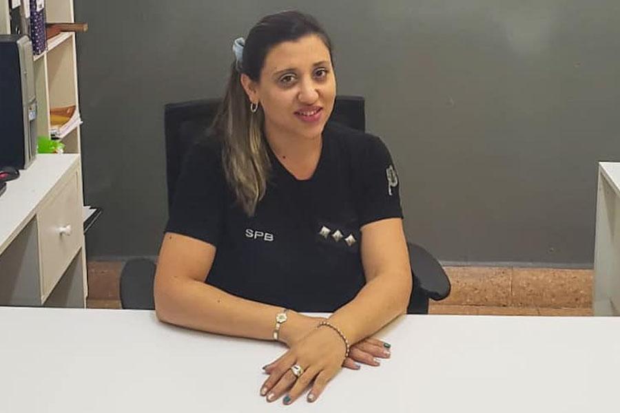 Vanesa Gonzales, la oficial que ejercerá un cargo históricamente reservado a los hombres en el SPB