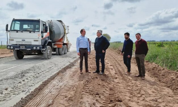 Torchio agradeció al gobernador Kicillof por la inversión en la ruralidad