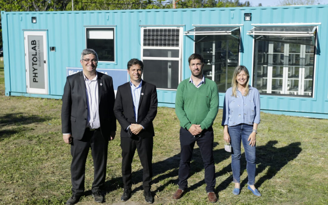 Producir en verde, otro de los desafíos de Kicillof en la provincia
