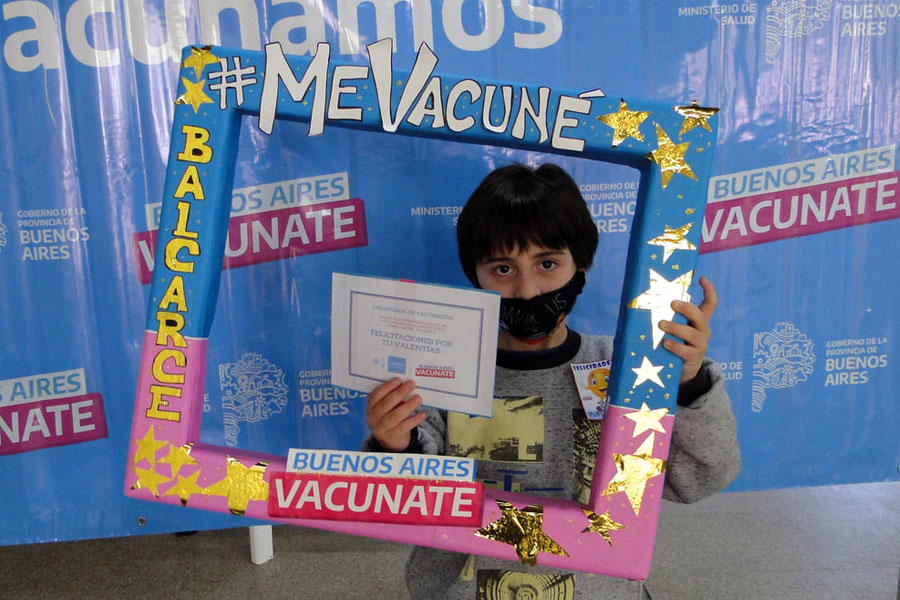 Avanza la vacunación en chicos: ya son más de 100 mil de entre 3 y 11 años vacunados en la Provincia